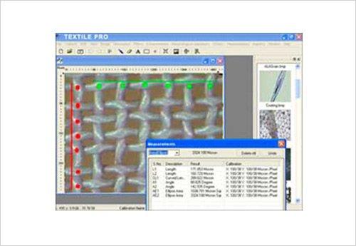 Textile Pro Tekstil Analiz Görüntü Yazılım